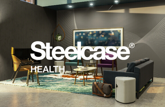 HG Home Steelcase Health - with logo