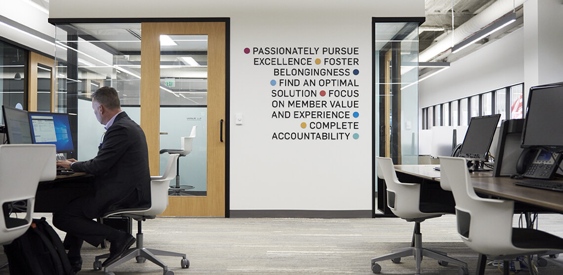 Grand Rapids Chamber Core Values Wall Art