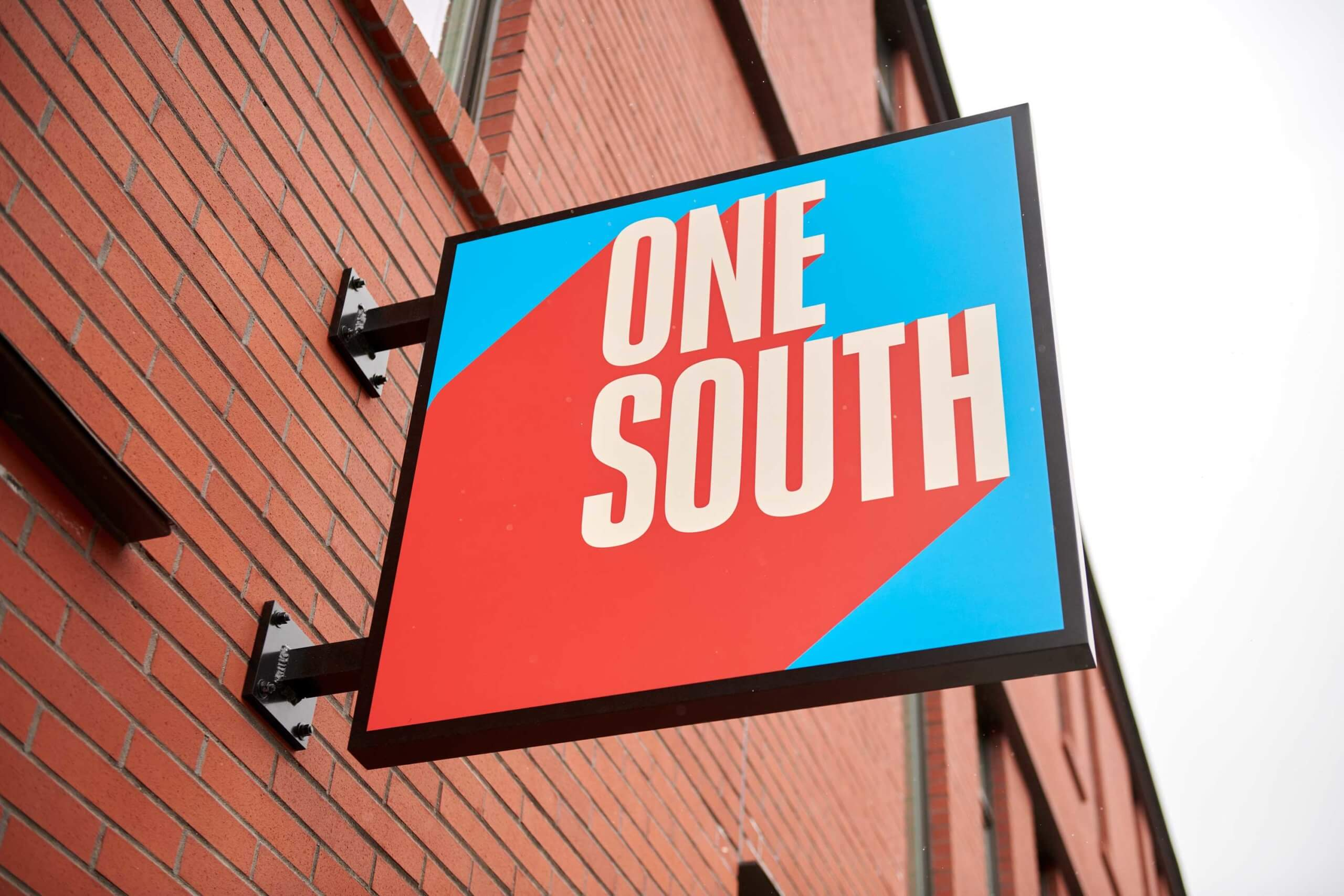 Exterior Signage at One South