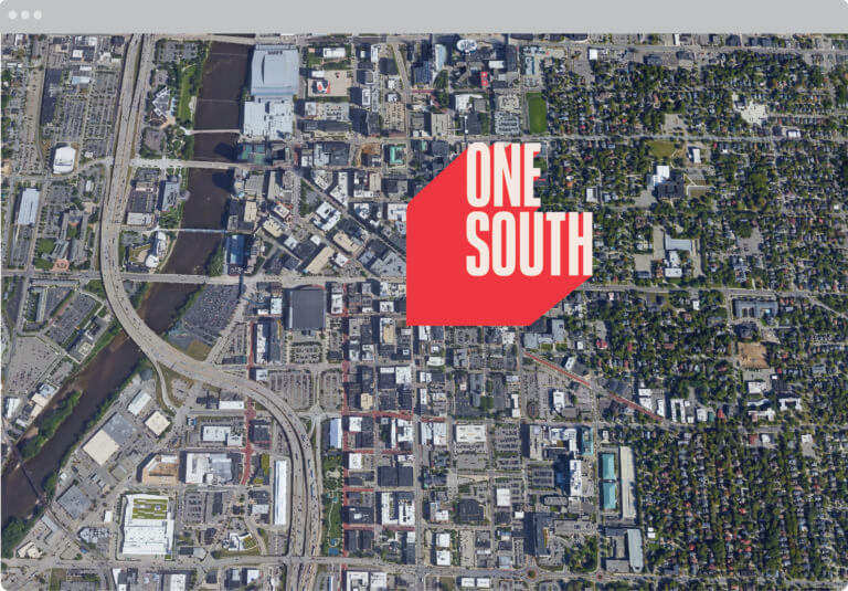One South Location Indicator