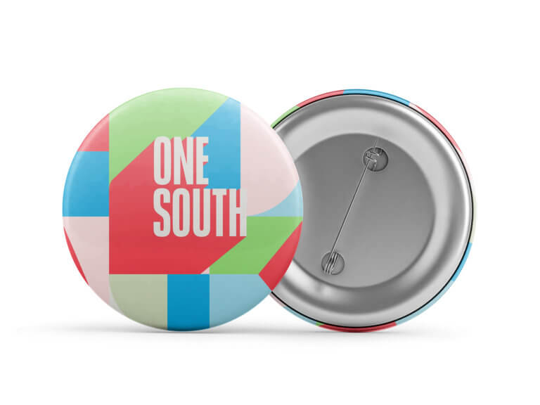 One South Button Mockup