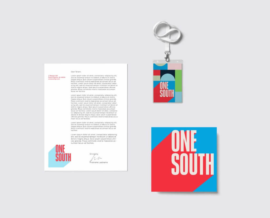One South Print Collateral